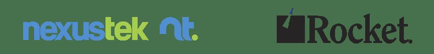 nexustek and rocket logos